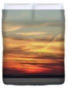 Zadar Sunset Duvet Cover