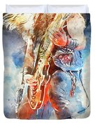 Zakk Wylde - Watercolor 09 Duvet Cover