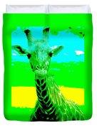 Zany Giraffe Duvet Cover