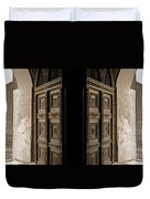 Zanzibar Doors Duvet Cover