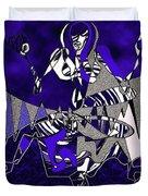 Zazen Jazz Duvet Cover