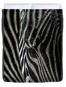 Zebra 3 Duvet Cover