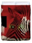 Zebra 4.0 Duvet Cover