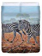 Zebra Crossing Duvet Cover