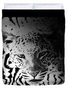 Zebra Kill Duvet Cover