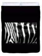 Zebra Lines Duvet Cover