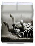 Zebra Rolling Duvet Cover