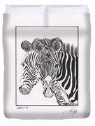 Zebra Series 6 Duvet Cover
