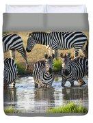 Zebra15 Duvet Cover