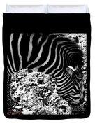 Zebra2 Duvet Cover
