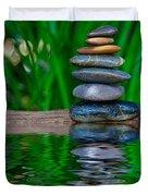 Zen Art And Reflections By Kaye Menner Duvet Cover