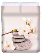 Zen Cherry Blossom Duvet Cover