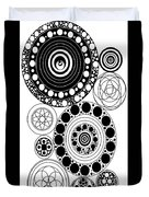Zen Circles Design Duvet Cover