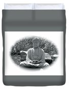 Zen Duvet Cover by Michael Lucarelli