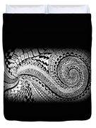 Zen Tangle 1 Duvet Cover