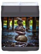 Zen Under The Dock Duvet Cover