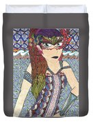 Zentangle Queen  Duvet Cover