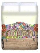 Zentangle Sofa Duvet Cover