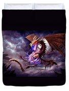 Zerolios - Bone Lighting Dragon Duvet Cover