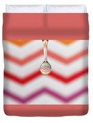 Zigzag Water Drop 3 Duvet Cover