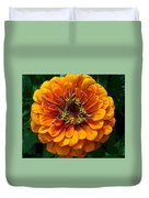 Zinnia At Frankenmuth Duvet Cover