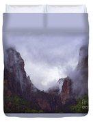 Zion Fog Duvet Cover