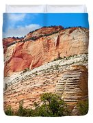 Zion Hike 1 View 2 Duvet Cover