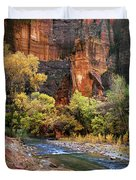 Zion National Park 57 Duvet Cover