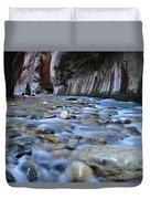 Zion National Park Narrows Duvet Cover