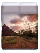 Zion Sunset Duvet Cover by Wesley Aston