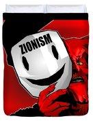 Zionism Devil Duvet Cover
