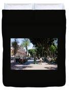 Zocalo Puebla 3 Duvet Cover