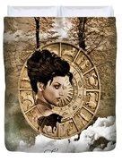 Zodiac Signs - Taurus Duvet Cover