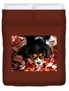 Zoeh - Look Into My Eyes Duvet Cover