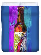 Zombie Dust By 3 Floyds Brewing Co.  Duvet Cover