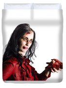 Zombie Shaking Severed Hand Duvet Cover