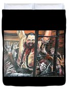 Zombies Attack Duvet Cover