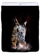 Zombified Horse Duvet Cover