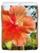 Zoo Flower Duvet Cover