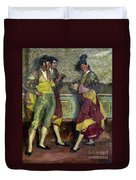 Zuloaga: Bullfighters Duvet Cover