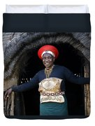 Zulu Woman Duvet Cover