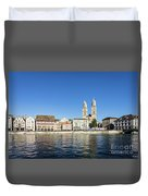 Zurich Cathedral Duvet Cover