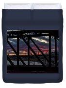 008 - Trestle Sunset Duvet Cover