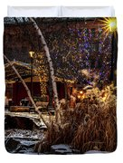 033 - Mears In Winter Duvet Cover