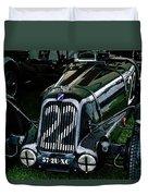 1930's Talbot Lago T23 Race Car Duvet Cover