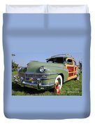 1947 Chrysler Town And Country Woody Duvet Cover