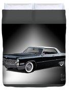 1966 Cadillac Coupe Deville Duvet Cover