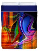 Abstract #35 Duvet Cover