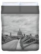 Across The Bridge Duvet Cover
