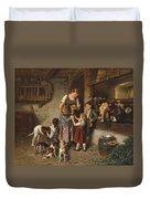 Adolf Eberle  Fresh Milk Duvet Cover